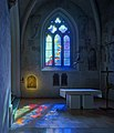 Brian Clarke stained glass and transillumination at the Abbaye de la Fille-Dieu.jpg