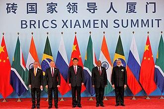 BRICS - Image: Brics Leaders 2017