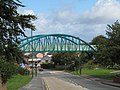 Bridge carrying railway path - geograph.org.uk - 2068334.jpg