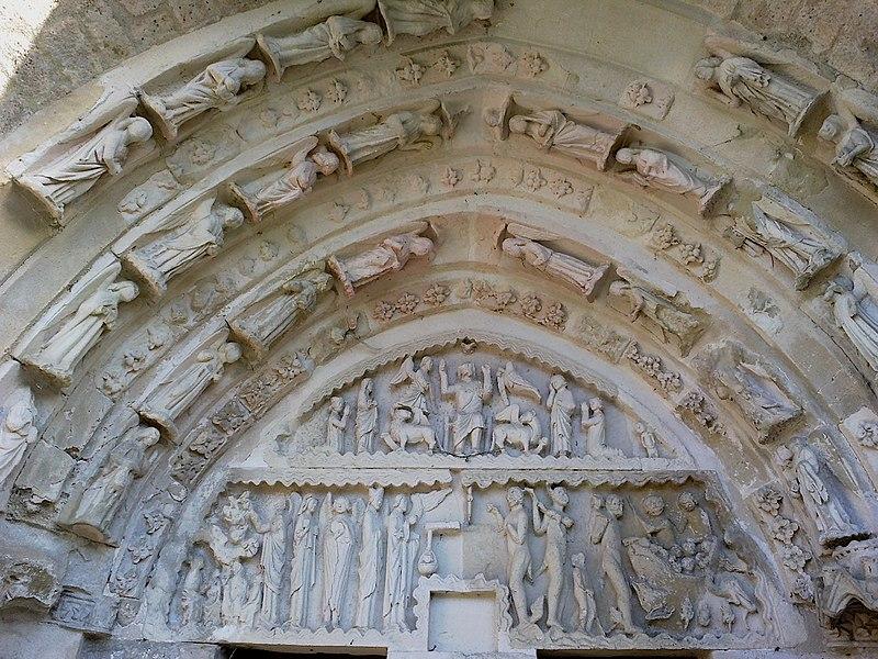 Brie Saint-Eugene Eglise Porche Tympan