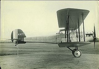 Bristol M.R.1 British, WWI experimental aircraft model