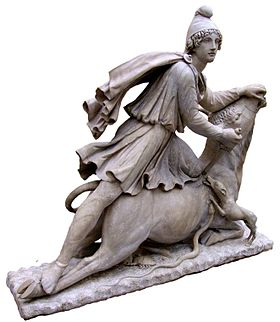 Tauroctony of Mithras at the British Museum London