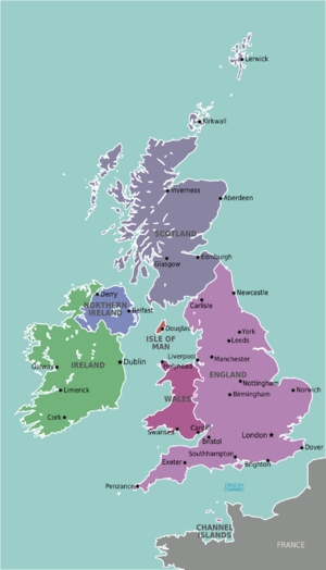 Britain and Ireland – Travel guide at Wikivoyage