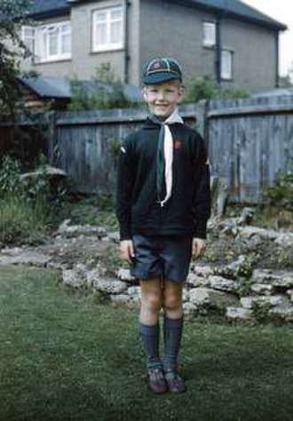 Cub Scouts (The Scout Association) - A Wolf Cub in 1960.