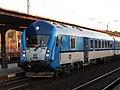 Brno, Královo Pole, železniční stanice, vůz 80-30 002 (02).jpg