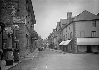 Broad st. Builth Wells