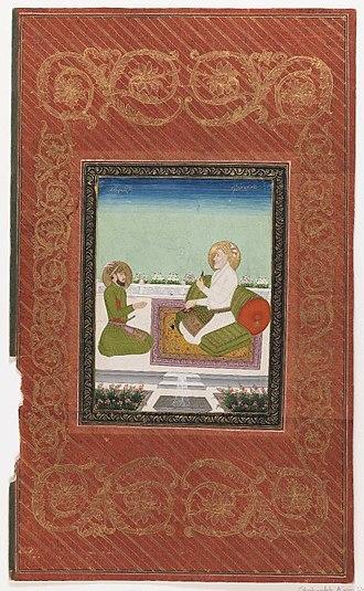 Muhammad Azam Shah - Muhammad Azam with his son, Prince Bidar Bakht