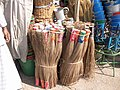 Brooms made from recycled material old Dhaka (8475701470).jpg
