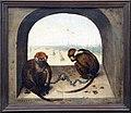 Bruegel il vecchio, due scimmiette incatenate, 1562, 02.JPG