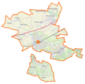 Brwinów (gmina) location map.png