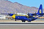 "BuNo 164763 USMC Blue Angels ""Fat Albert"" 1992 Lockheed C-130T Hercules C-N 382-5258 - McCarran International Airport, Las Vegas (11216103873).jpg"