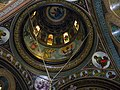 Bucuresti, Romania, Str. Constantin F. Robescu nr. 18, Piata Corneliu Coposu, sect. 3 (Biserica Sfantul Mina - Vergu) (plafon 2).JPG