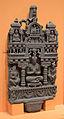 Buddha Inside Palace - Schist - ca 2nd Century CE - Gandhara - Loriyan Tangai - ACCN 5090-A23485 - Indian Museum - Kolkata 2016-03-06 1541.JPG