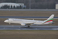 LZ-SOF - E190 - Bulgaria Air