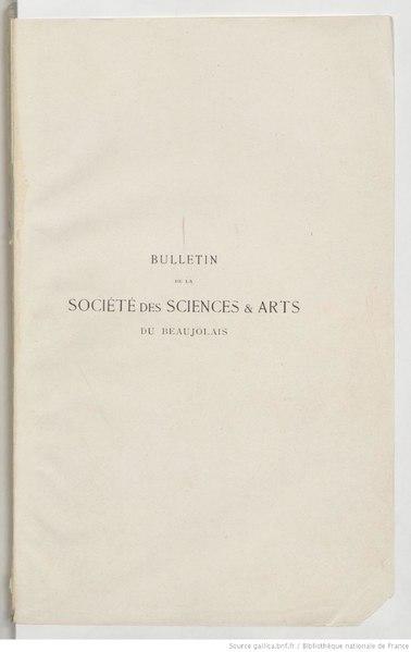 File:Bulletin de la Société des sciences et arts du Beaujolais - 10e année - 1909.pdf