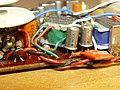 Bulova 870s series Transistor Radio PCB detail.jpg