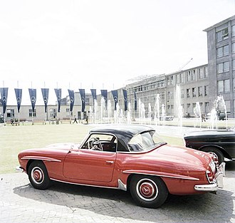 Mercedes-Benz 190 SL - 1962 Mercedes-Benz 190SL with removable hardtop