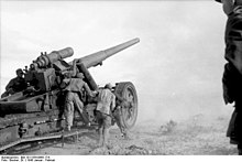 ACE: Model 17cm Kanone 18 in Morserlafette (Matterhorn)