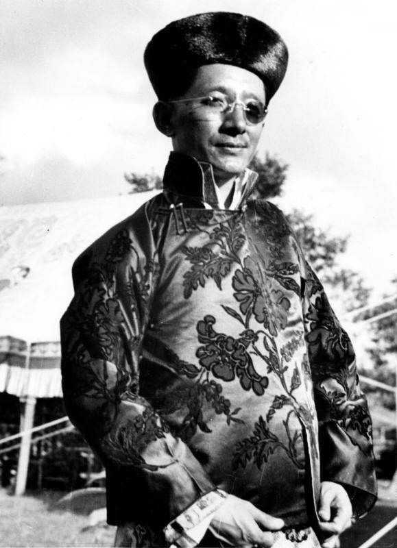 Bundesarchiv Bild 135-S-03-24-03, Tibetexpedition, Der Maharaja von Sikkim