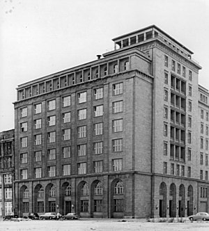 National Democratic Party of Germany (East Germany) - NDPD house in East Berlin in 1959
