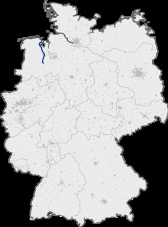 Bundesautobahn 29 - Image: Bundesautobahn 29 map