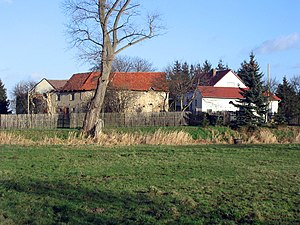 Calvörde Castle - Present state