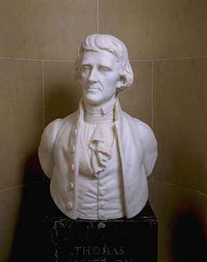 United States Senate Vice Presidential Bust Collection - Image: Bust Thomas Jefferson