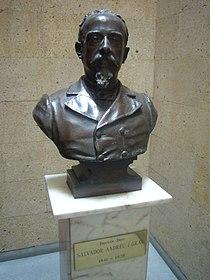 Bust de Salvador Andreu - carrer Pau Claris 94.JPG