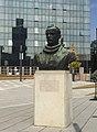 Bust of Dimitrije Tucović at Slavija Square, September 2020.jpg