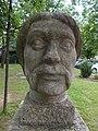 Bust of György Dózsa by Mihály Pál Sr. (1964) in Gyömrő, Hungary.jpg