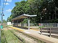Butler station facing east, August 2016.JPG