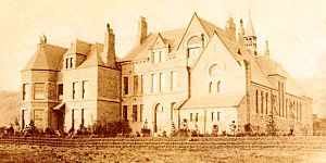 Buxton College - The college's new building in about 1890