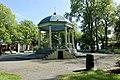 Byparken Haugesund Norway 2020-06-08 Musikkpaviljong Pavillion park trær benker blomstring etc 09933.jpg
