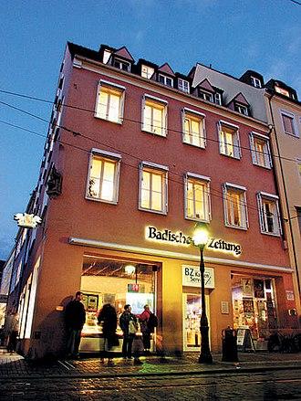 Badische Zeitung - Headquarters of Badische Zeitung in Freiburg