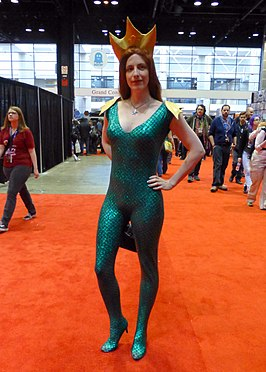 Cosplayer - Mera, 2014