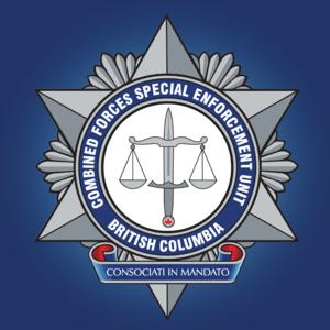 Combined Forces Special Enforcement Unit – British Columbia - Image: CFSEU BC Logo 2015