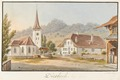 CH-NB - Oberdiessbach, Pfarrhaus und Kirche - Collection Gugelmann - GS-GUGE-WEIBEL-D-101a.tif