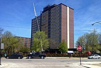 Chicago Housing Authority - Judge Slater Apartments in the Bronzeville neighborhood.