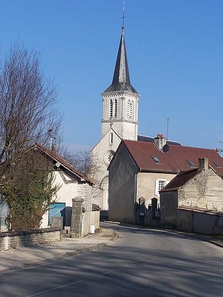 église de Clénay (VAL DE NORGES)  côte d'or
