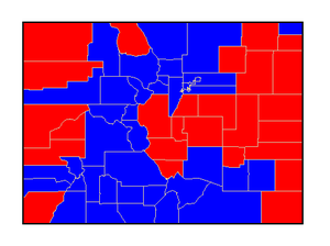Colorado gubernatorial election, 2006 - Image: CO Gov 06Counties