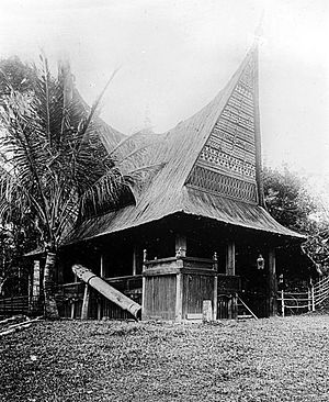 Mandailing people - Local Home in Mandailing Natal Regency.