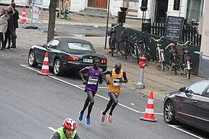 Emmanuel Bett - Copenhagen half marathon, running with Joel Kemboi