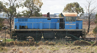 CRT Group - CRT Group 7334 at the Altona terminal in March 2007