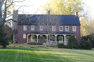 National Register of Historic Places listings in Frederick County, Virginia - Image: CRUMLEY LYNN LODGE, WHITE HALL, FREDERICK COUNTY, VA