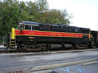 Cuyahoga Valley Scenic Railroad - Image: CVSR4241