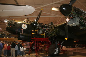 "Victory Aircraft - Victory Aircraft Lancaster X, named the ""Mynarski Memorial Lancaster"""