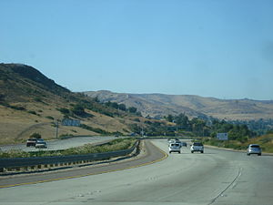 California State Route 125 - SR 125 near Santee, CA