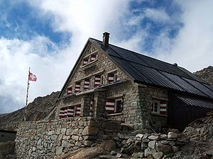 Swiss Alpine Club - Image: Cabanedu Trient