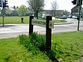 Caddington Village Sign - geograph.org.uk - 401464.jpg