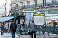 Cadet metro station, Paris 4 March 2015 001.jpg